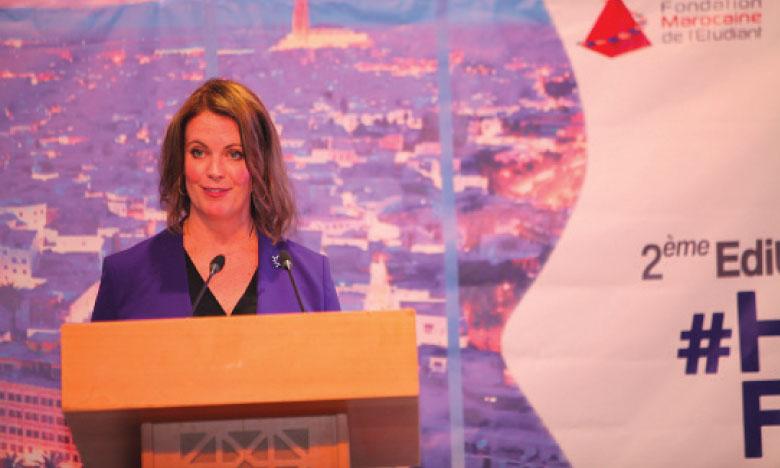 Nell Stewartet, ambassadrice du Canada au Maroc