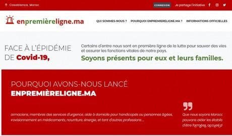 «enpremièreligne.ma», un site pour aider les personnes sur le front de la lutte contre le Covid-19