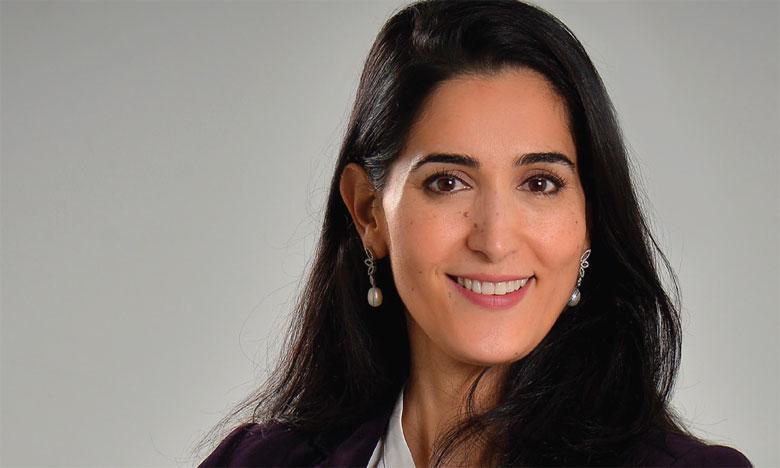Yassmine Bellakhdim Directrice de cabinet  de conseil, vice-présidente de la fondation internationale Inspiring Girls
