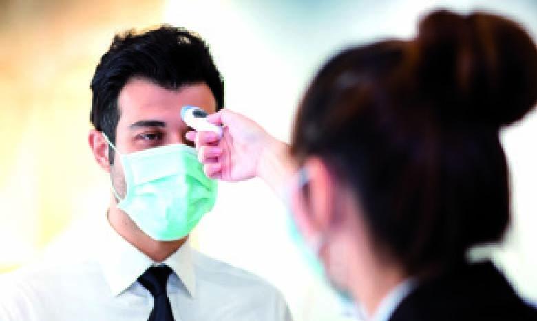 L'employeur a le droit de mesurer la température du salarié avant son accès aux locaux de l'entreprise.  Ph. Shutterstock
