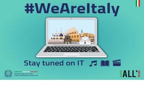 L'Italie lance la campagne culturelle virtuelle «Nous sommes l'Italie-Restez à l'écoute»