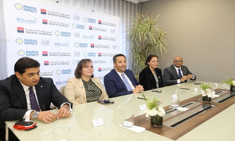 Signature d'un mémorandum entre Société Générale et Maroc Impact