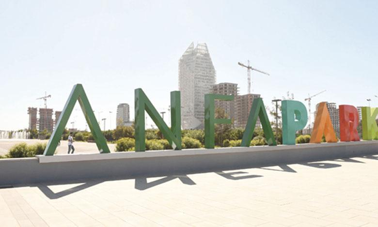 Le parc urbain bénéficiera de 50 hectares au total. La première phase, ouverte au public, propose  18 hectares d'espaces. Ph. SAOURI