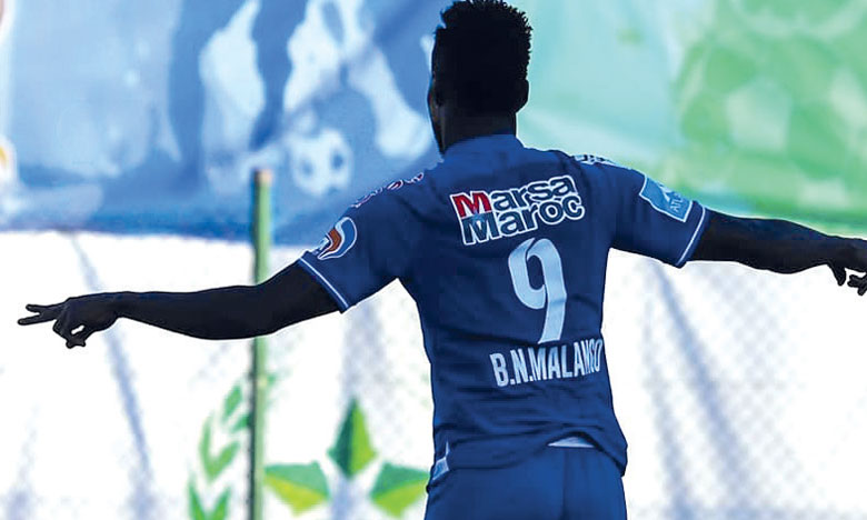 La FIFA considère que Ben Malango est un joueur à part entière du Raja et qu'il pourra de facto prendre part au match de ce samedi.