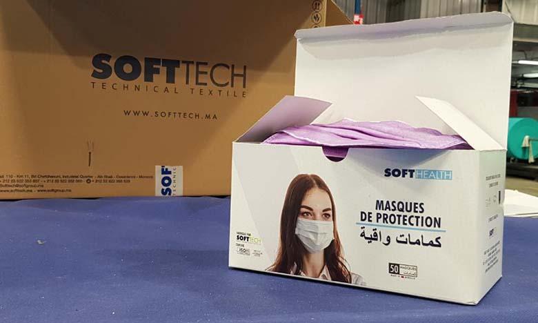 10 millions de masques offerts par Soft Tech