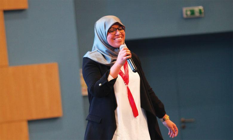 khaoula El Hajjam dit Non à l'exclusion