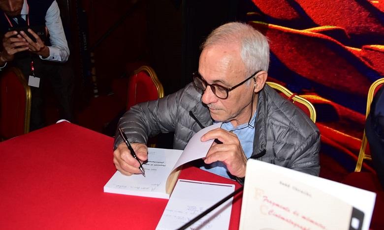 """Saâd Chraibi présente son livre """"Fragments de mémoire cinématographique"""""""