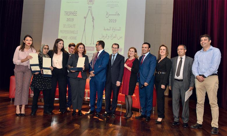 Trois entreprises récompensées pour  leurs efforts pour la parité