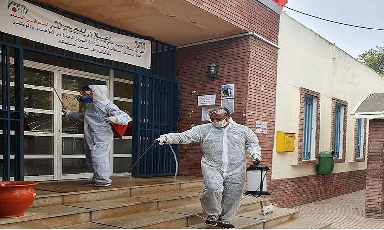 L'opération de stérilisation aura lieu chaque semaine et ce jusqu'à la fin de la période de confinement au Maroc.