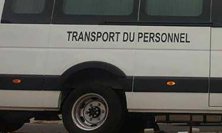 Transport du personnel : voici les conditions à respecter