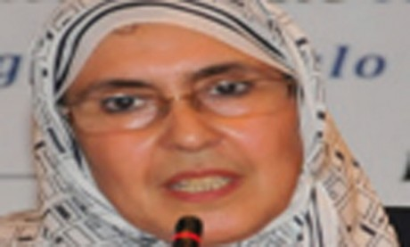 Touria Berradi  première femme ingénieure  de l'EHTP et première marocaine  ingénieure de Supelec Paris