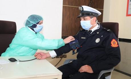 Coronavirus : Les fonctionnaires de la préfecture de police de Rabat font un don de sang