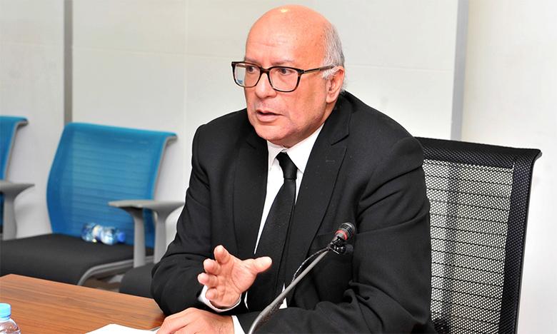 Le président de la Commission nationale de contrôle de la protection des données à caractère personnel, Omar Seghrouchni.