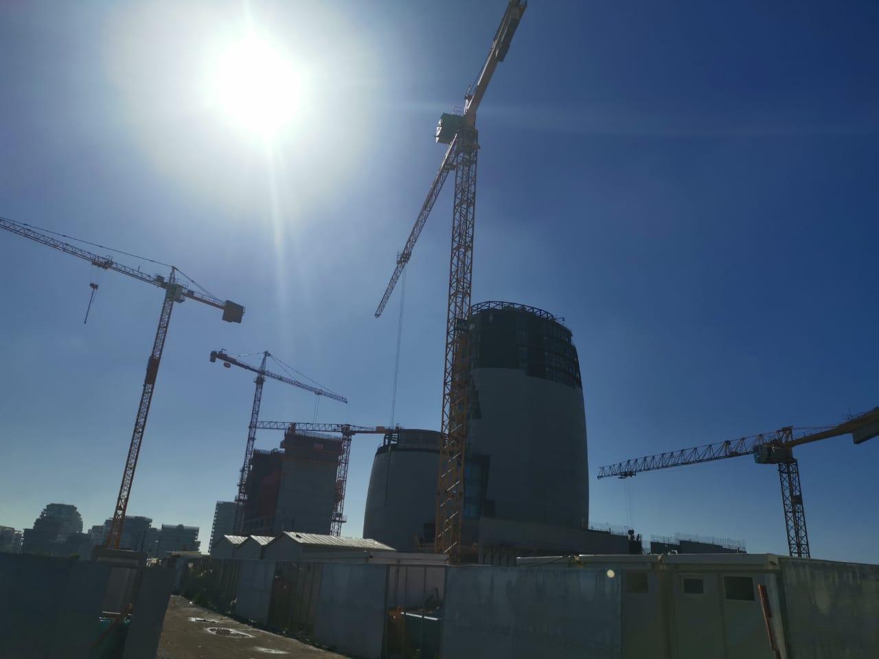Confinement sanitaire : La quasi-totalité des chantiers de construction à l'arrêt