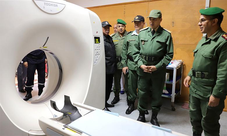 Les cadres de la médecine militaire poursuivent leur déploiement dans les différentes régions du Royaume