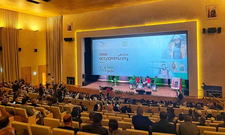 Groupe OCP : Coup d'envoi à Benguérir de la première édition du Forum Act4Community