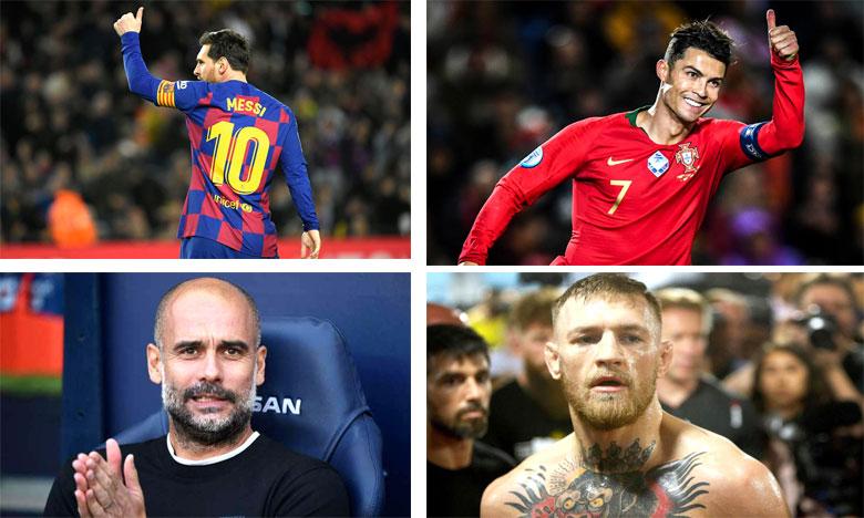 Lionel Messi. Cristiano Ronaldo. Pep Guardiola. Conor McGregor.
