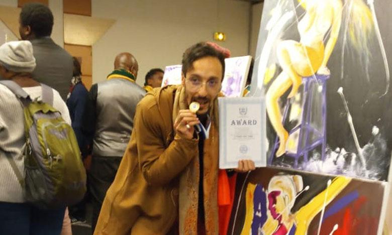 Yahya Abou Nizar reçoit le Prix mondial  de l'Unesco