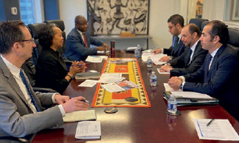 Mohcine Jazouli tient à Washington une série de réunions avec de hauts responsables américains