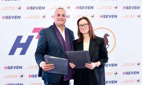 Partenariat stratégique entre le groupe BCP et Hseven