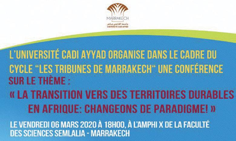 Le Matin - L'Université Cadi Ayyad organise son 6e cycle de conférences