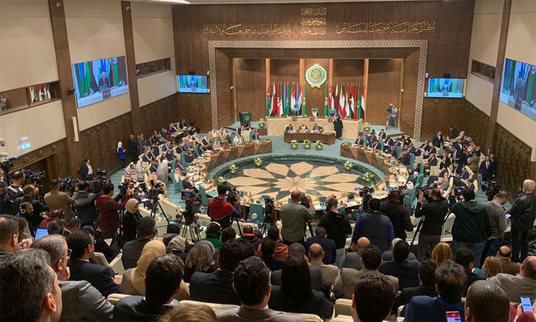 Le Conseil de la Ligue arabe réitère son rejet de «l'accord du siècle»