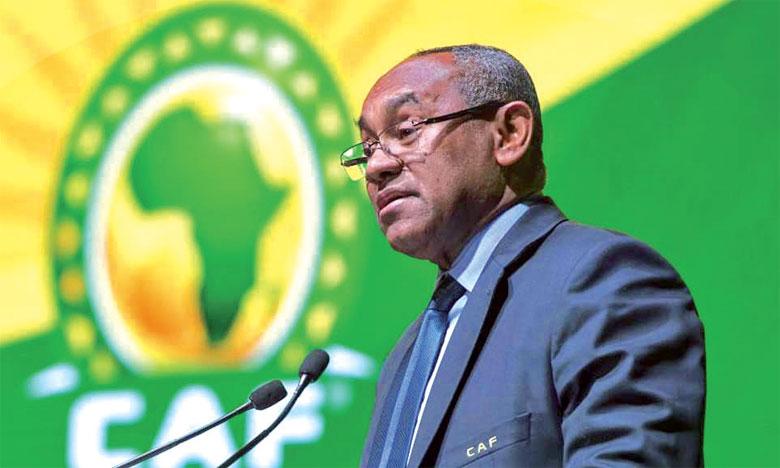 Ahmed Ahmed, président de la CAF.