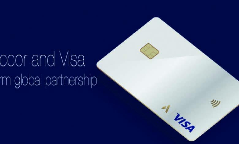 Une carte co-brandée avec Visa pour le club fidélité
