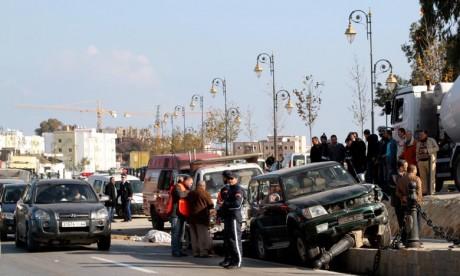 Les accidents de la circulation font 5 morts et 271 blessés en une semaine