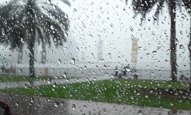 De fortes pluies de niveau orange sont attendues du lundi au mercredi. Ph: DR.
