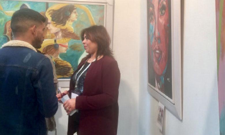 Exposition collective d'arts plastiques en célébration de la Journée  mondiale de la femme