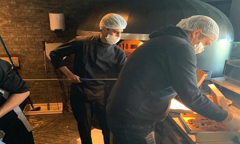 Le Cabestan cuisine pour le personnel soignant de l'hôpital Moulay Youssef