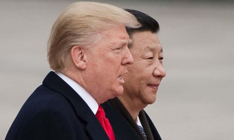 Malgré leur rivalité, la Chine et les États-Unis «doivent s'unir contre l'épidémie» de Covid-19, a souligné le Président Xi lors d'une conversation téléphonique avec le Président américain Donald Trump. Ph. AFP