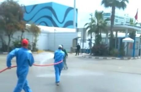 Lutte contre la propagation du coronavirus   : Grosse opération de désinfection du port de Casablanca