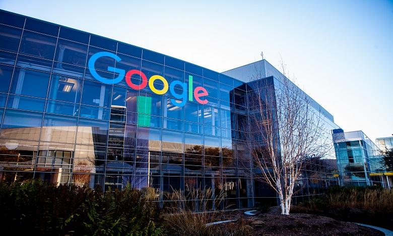 Google a décidé que tous les entretiens d'embauche vont être «virtuels» au lieu du traditionnel face-à-face. Ph. AFP
