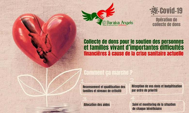 L'association El Baraka Angels au secours  des familles nécessiteuses