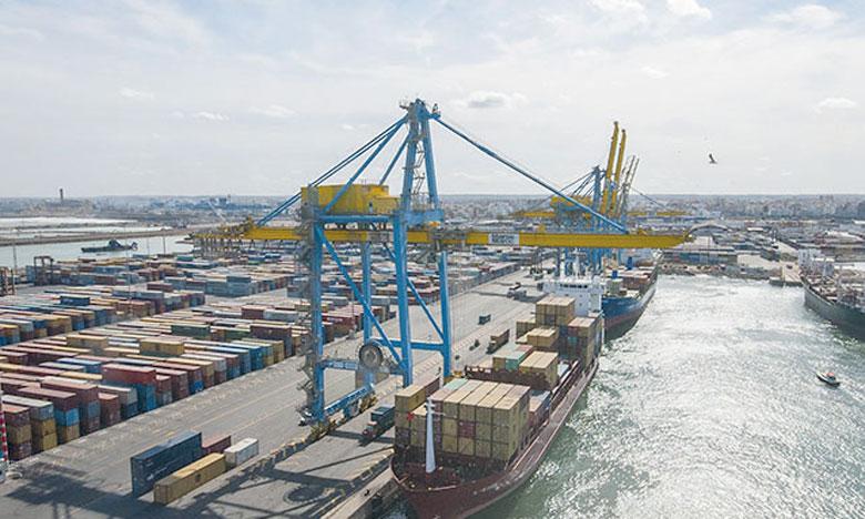 Hausse de 7,3% du trafic portuaire au 1er trimestre