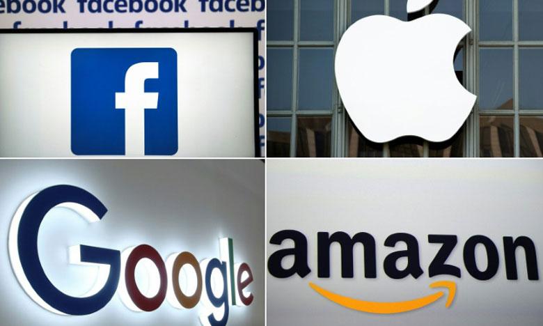 Les géants de la tech assoient leur puissance à la faveur  du «Grand Confinement»