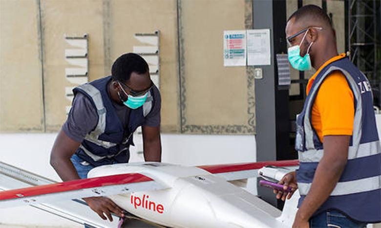 Au Ghana, des drones pour le dépistage du coronavirus dans les zones rurales
