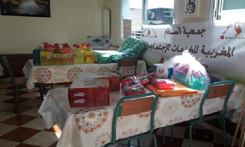 L'Association Marocaine de Paix et des Œuvres Sociales mobilisée face à la pandémie