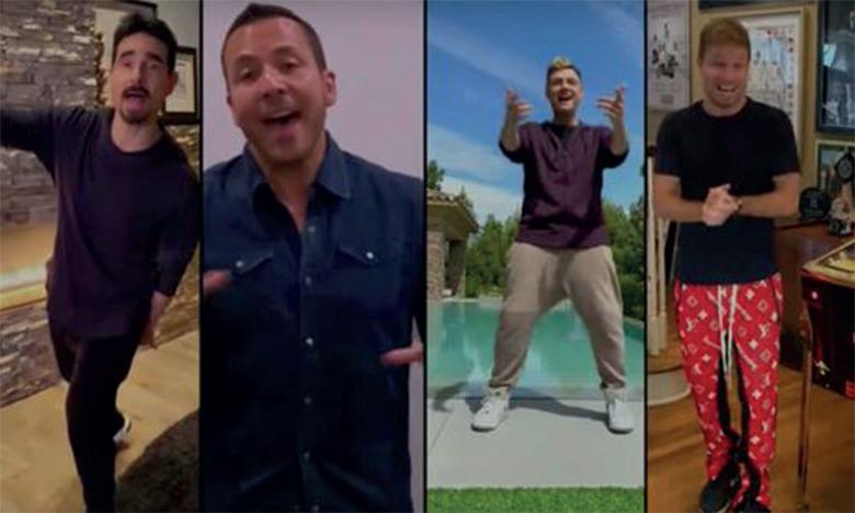 Les Backstreet Boys reprennent «I Want It That Way» à distance