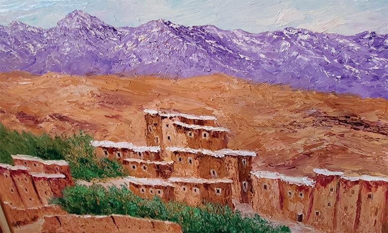 Afif Bennani : «Je profite de ce confinement pour  travailler aussi bien la peinture que mes livres»