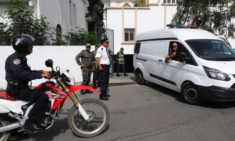 La DGAPR suspend le transfert des détenus vers les tribunaux et les hôpitaux
