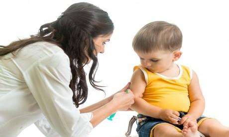 Les activités de vaccination des enfants maintenues en dépit de la crise