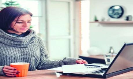Au moins 80% des entreprises de services sont en télétravail