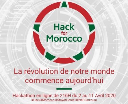 Covid-19 : Coup d'envoi ce jeudi de «Hack For Morocco»