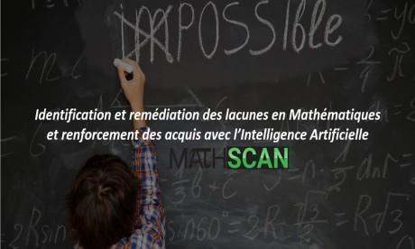 MATHSCAN lance une plateforme de cours de mathématiques