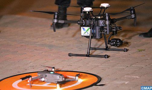 Des drones à Témara pour respecter l'état d'urgence sanitaire