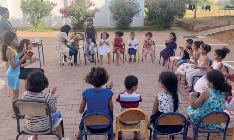 Le confinement dans la joie et la bonne humeur  au sein du centre de protection sociale Dar lmima