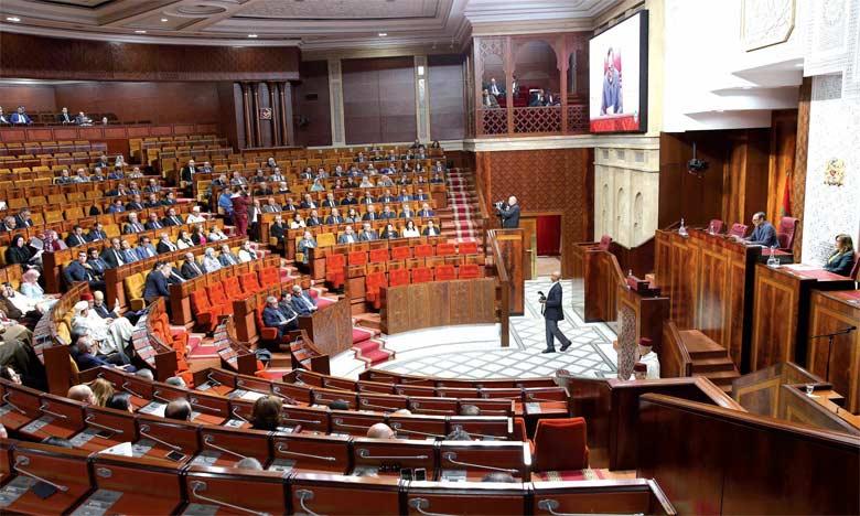 Chambre des représentants: Ouverture vendredi de la deuxième session de l'année législative